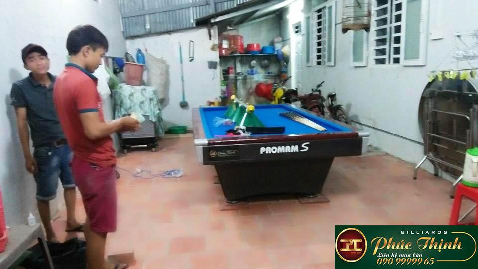 Lắp đặt bàn bida gia đình tại Tây Ninh