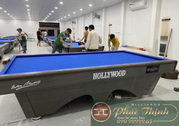 Lắp đặt bàn bida Hollywood