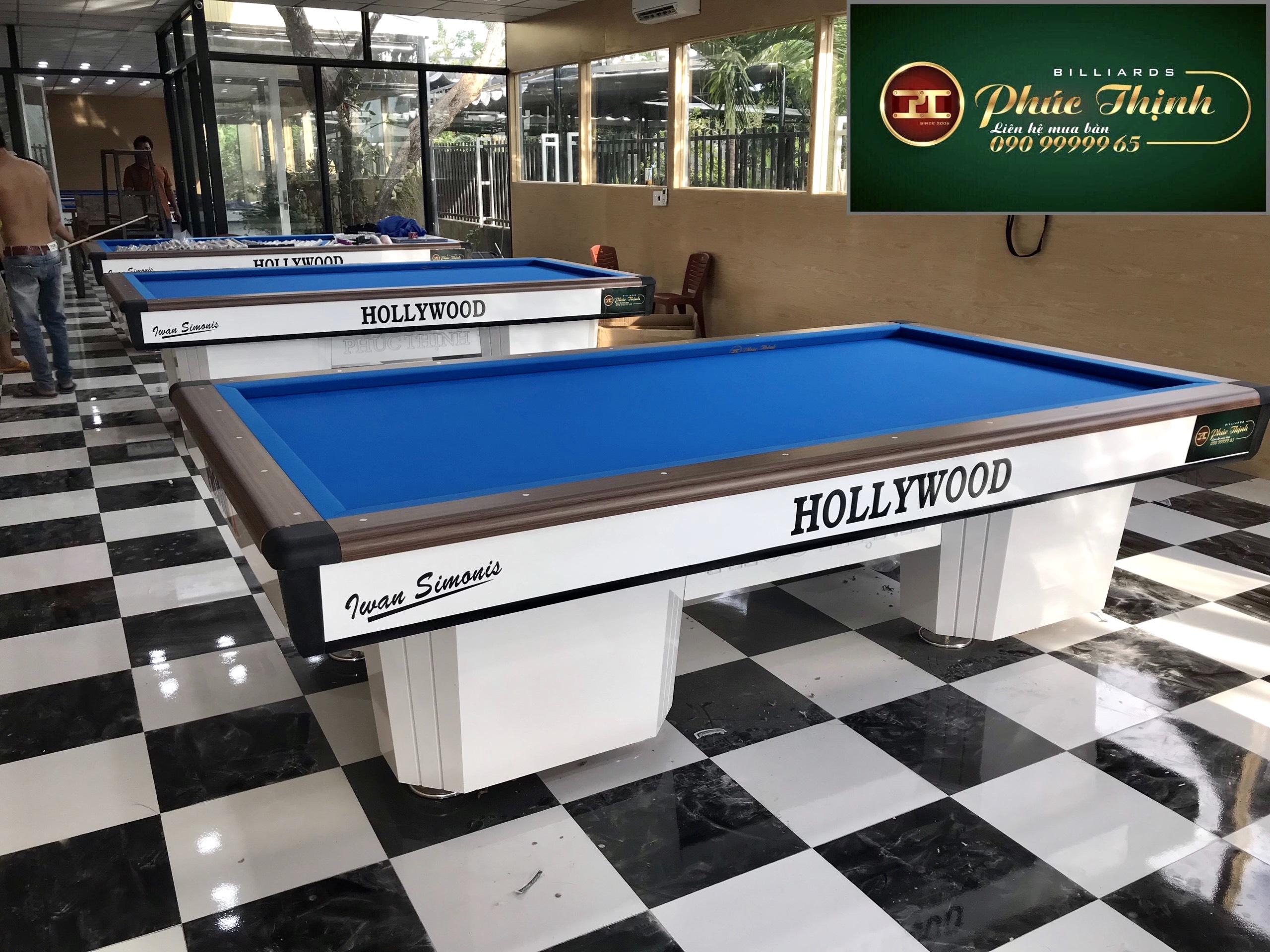Mẫu bàn bida Hollywood 2021