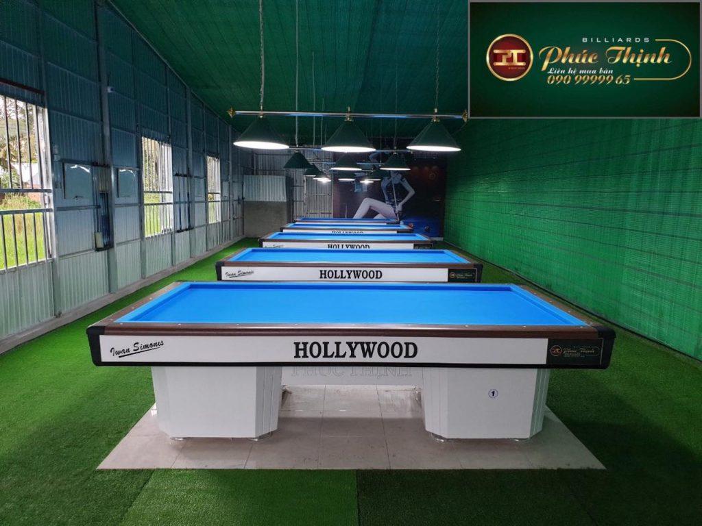 Câu lạc bộ bida Khánh Hòa dùng bàn Phúc Thịnh